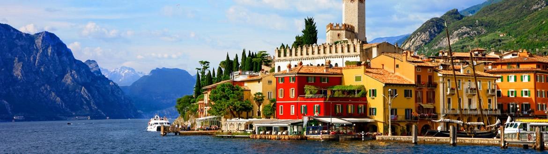 TOUR NORD ITALIA : PERCORSO FRA GLI IDILLIACI LAGHI DEL NORD DA MILANO A VERONA