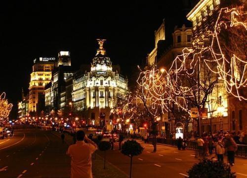 NATALE , CAPODANNO ED EPIFANIA A MADRID PACCHETTI VOLO + HOTEL